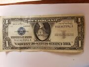 1957 A 1 Dollar Bill Old Us Paper Money Currency Blue Seal Silver Certificate