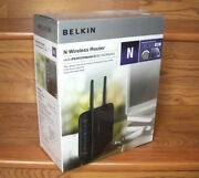 New Sealed Belkin 802.11n Wireless Lan 10/100 Switch Cable/dsl Router F5d8236-4