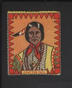 1950and039s Novel Candy And Toy R722-3 Indian Chiefs 10 Spotted Tail Tough