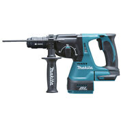 Makita Dhr243zj Rotary Drill Sds Plus 18v+ Case Makpac Without Battery