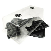 10 Pack 10x20 Seedling Plant Propagation Cloning Tray Dome Insert