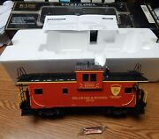 K-line K613-1451 Delaware And Hudson Extended Smoking Caboose Car Nib O Scale Lqqk