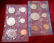 1972 Unites States Us Mint Uncirculated Coin Set