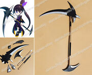 Brave Frontier Cosplay Alice 180cm Pvc Scythe Hand Staff Stick Anime Prop Weapon