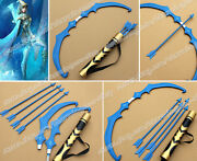 League Of Legends Lol Cosplay Ice Shooter Ashe Bow Arrow Ainme Weapon Props New