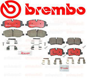 Brembo Front And Rear Brake Pad Set For Land Rover