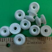 10 White Stayput Knobs For Canvas Boat Cover Bungee Shock Cord Loops Tie Down