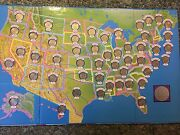 50 State Quarters Collection Cardboard Trifold + Various Other Special Quarters