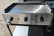 Catering Cart, Taco Cart, Food Cart, 3/8 Griddle With Stand