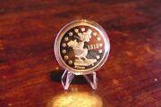 Goldcoins Limited Edition - Disney Cornelius Coot Founder Of Duckburg 1 Taler