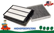 Combo Air Filter + Charcoal Cabin Filter For 2016 - 2021 Hyundai Tucson