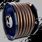 0 Gauge 50ft Black Power Ground Ofc Wire Strand Copper Marine Cable 1/0 Awg Usa