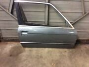 Front Right Passenger Door Shell Silver Fits 87 88 89 90 91 Bmw 318i 325i