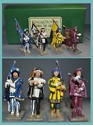 King And Country Glossy Standard Bearers Palio Races Of Sienna Aa-11395/s3