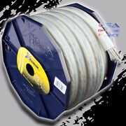 2 Gauge 50ft Platinum Power Ground Ofc Wire Copper Flat Marine Cable 2 Awg Usa