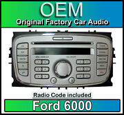 Ford 6000 Cd Player Silver Ford Galaxy Car Stereo Headunit With Radio Code
