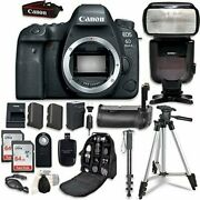 Canon Eos 6d Mark Ii Camera Bundle Body Only + Professional Accessory Bundle