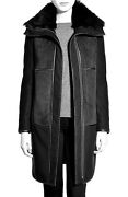 Badgley Mischka Sophia Reversible Genuine Shearling Coat Xs Nwt Sold Out 1950