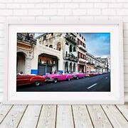 Havana Cuba - City Streets Poster Picture Print Size A5 To A0 Free Delivery