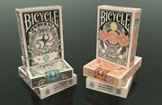Bicycle Federal 52 And Gold Certificate Playing Cards Decks Rare Sealed Branded