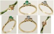 Alexandrite Gold Ring 1/3ct Antique 19thc Russia Natural Real Color-change 14kt