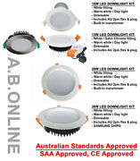 10w Or 13w Dimmable Led Downlight Kit Light Fitting Recessed Ceiling Transformer