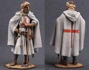 Tin Toy Soldiers Elite Painted 54 Mm Crusader Knight In Holy Land