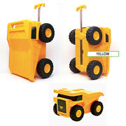 Family Out Kids Travel Luggage Bag 20 Baby Carrier Toy House Rolling Car Yellow
