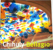 Dale Chihuly Hand Signed Autographed Bellagio Artist Book With Proof + C.o.a.