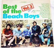 The Beach Boys Hand Signed Autographed The Best Of Vol.2 Album By 3 Proof+c.o.a
