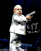 Vern Troyer Mini Me Actor Hand Signed Autographed Austin Powers Photo Proof+coa