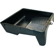 12 Inch Extra Deep Black Plastic Paint Tray - Good For Bottom Painting