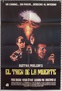 Death Train - Spanish Lang Movie Poster - 23.5x35 - Impossible To Find - Cult