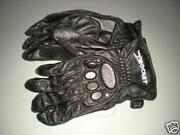 Nos Joe Rocket Leather Riding Motorcycle Gloves Ladies Small