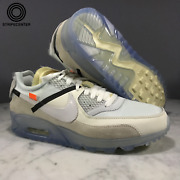 Nike Air Max 90 And039 Off-white Andtrade And039 - Sail/white-muslin - Aa7293-100