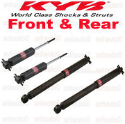 Kyb Front And Rear Shocks For Chevy/gmc C1500 C2500 C3500 Rear Wheel Drive