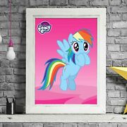 My Little Pony - Rainbow Dash Poster Picture Print Sizes A5 To A0 Free Delivery