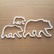 Bear Grizzly Brown Giant Shape Cookie Cutter Dough Biscuit Pastry Fondant Sharp