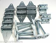 Garage Door Hinge And Roller Tune Up Kit 9and039 X 7and039 Or 8and039 X 7and039 With Bottom Brackets