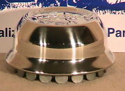 1928-1929 Model A Ford Stainless Steel Hub Caps. Set Of 5 Fits 21 Wheels
