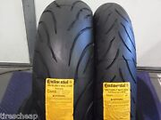 Two New Tire Set 120/70zr17 And 180/55zr17 Motorcycle Tires Cbr Gsxr Yfz R6