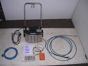 Goodway Ream-a-matic Ram-4 Chiller Tube Cleaner Ex Cond 2 Shafts And 10 Brushes