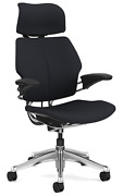 Humanscale Freedom F213 Aluminum Advanced Duron Arms Office Desk Chair Graphite
