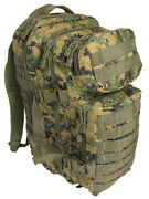 Digital Woodland Camo Molle Rucksack Assault Small 20l Backpack Tactical Pack