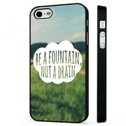 Be A Fountain Life Quot Black Phone Case Cover Fits Iphone