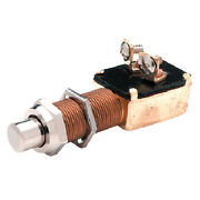 Heavy Duty Momentary Push Button Horn Or Starter Switch For Boats