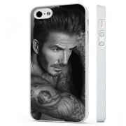David Beckham Topless Tattoos White Phone Case Cover Fits Iphone