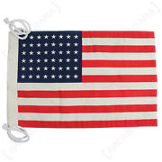 Small Vintage Style Us Flag 48 Stars - Jeep Flag Ww2 Repro American Army New