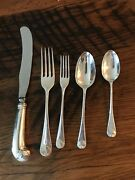 Williamsburg Shell Sterling By Kirk Stieff 6-5 Piece Plc Settings