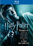 Harry Potter Yrs 1-6 Blu-ray Disc,7-disc-plus Harry Potter Deathly Hallows 1and2